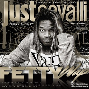 FATTY WAP @ JUST CAVALLI MILANO